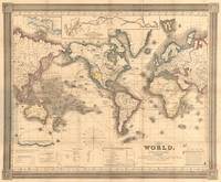 Vintage Map of the World (1850)