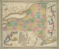 Vintage Map of New York (1835)