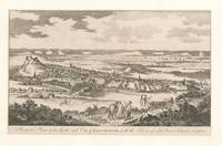 Vintage Pictorial Map of Edinburgh Scotland (1760)