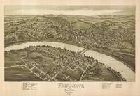 Vintage Pictorial Map of Fairmont WV (1897)