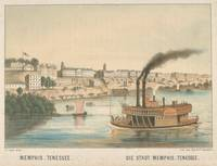 Vintage Pictorial View of Memphis TN (1854)