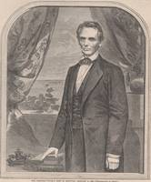Vintage Abraham Lincoln Illustrative Portrait (186