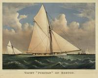 Vintage Boston Yacht - Puritan - Illustration (188