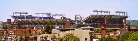 M&T Bank Stadium in South Baltimore