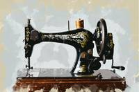 Vintage Singer Sewing Machine Just Like Grandma's