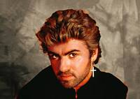 Portrait of Singer George Michael
