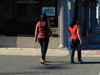 Hackensack, NJ - Two Ladies Crossing 2018