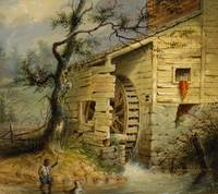 ALFRED JACOB MILLER (1810-1874) The Old Mill (circ
