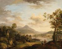 Christian Georg Schütz the Elder, Rhine Landscape