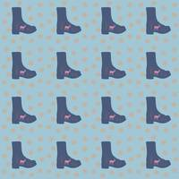 deer boots teal blue