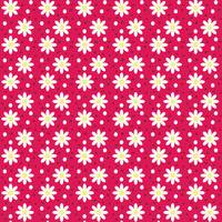 daisy dots light red