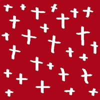 red white cross
