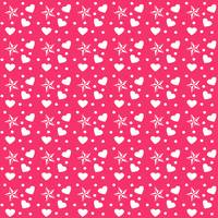 hearts and star dot pink