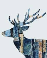 Rustic Deer High Res 16x20