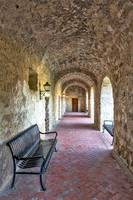 Mission Concepcion Breezeway Vertical