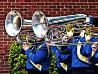 Baritone Horns and Trombones