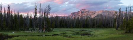 Uinta Sunset Panorama