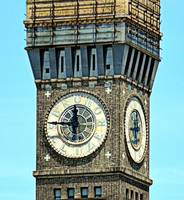 Bromo Seltzer Tower Clock Face, Baltimore, Marylan