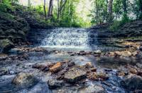 Hidden Waterfalls of Elgin Illinois