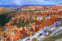 bryce canyon april snow
