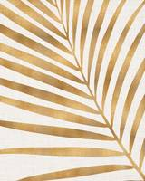 Gold Palm Leaf