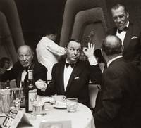 Frank Sinatra And Ed Sullivan In A Restaurant
