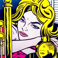 Blonde Waiting 1964 - Roy Lichtenstein