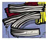 Brushstroke - 1965 - Roy Lichtenstein
