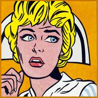 Nurse - 1964 - Roy Lichtenstein