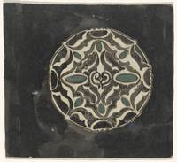 Design for a brooch , Carel Adolph Lion Cachet, 18