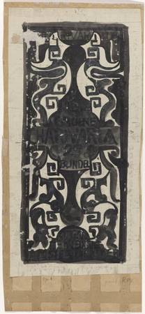 Design for the title page of Charivaria, 2nd colle