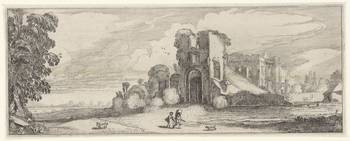Ruins of castle Brederode, Jan van de Velde (II),