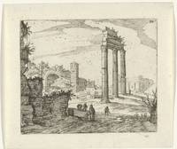 Temple of Castor and Pollux and the basilica of Co