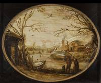 Winter Landscape, Jan van de Velde (II) (attribute