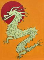 Asian Dragon Icon #1