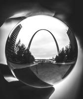 Abstract Arch B&W