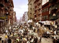 Vintage Mulberry Street - Lower East Side - Circa