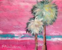 Pink Horizon Palms