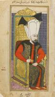A portrait of Sultan Mehmet IV (r.1648-87), Turkey