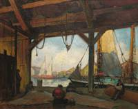 Boatyard, Kennebunkport by George A. Williams (187