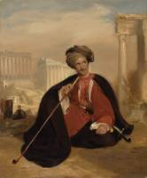 Charles Lenox Cumming-Bruce in Turkish Dress by An