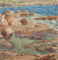 CHILDE HASSAM (1859-1935) The Pretty Pool, Bass Ro