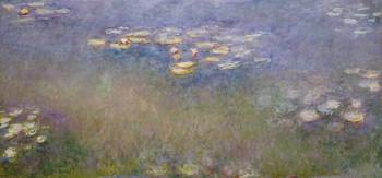 CLAUDE MONET - WATER LILIES, C. 1915-16
