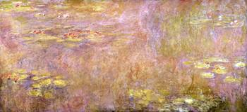 CLAUDE MONET - WATERLILIES, AFTER 1916