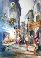 Market Day Cannes - Stephen J Rothwell