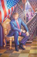 President Trump and The First Lady by J. Obando