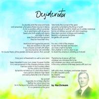 Desiderata by Max Ehrmann v11