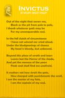Invictus BY WILLIAM ERNEST HENLEY v3