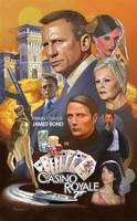 james bond - casino poster