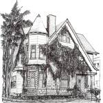 """Victorian House in Hillcrest, by RD Riccoboni"" by BeaconArtWorksCorporation"